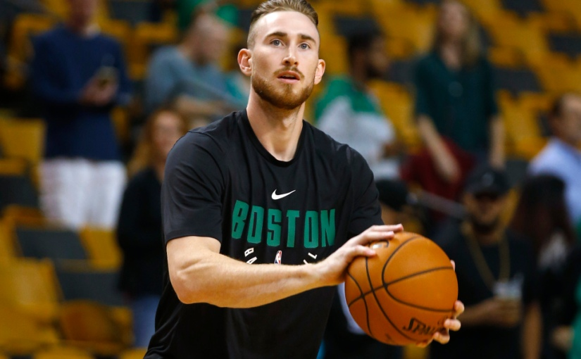 Gordon Hayward Fractures Ankle in First Quarter as a Celtic