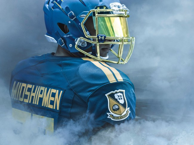 Navy's Uniforms Might Win Them the Game Before It Starts
