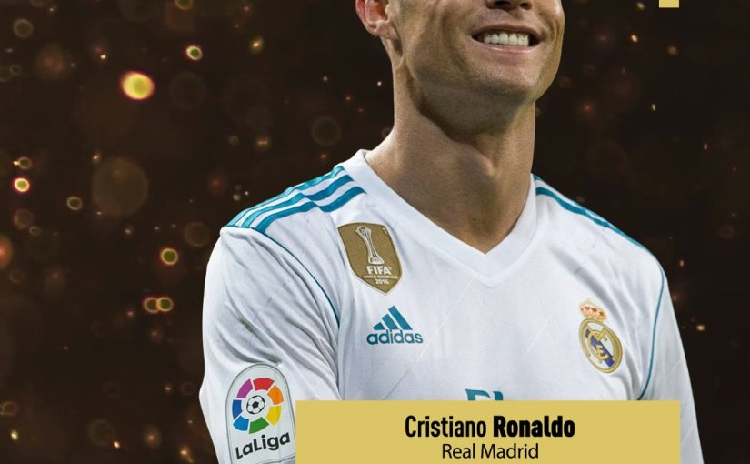 Cristiano Ronaldo wins Ballon d'Or 2017