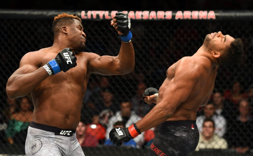 Francis Ngannou Might Be The Scariest ManAlive
