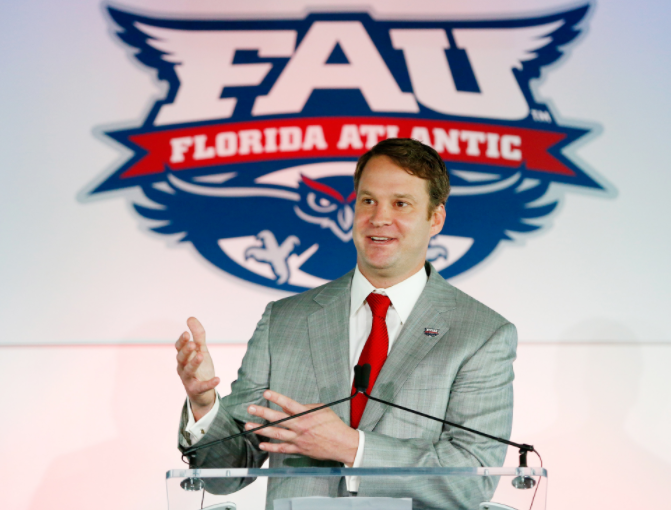 Lane Kiffin Signs Ten-Year Extension with Florida Atlantic
