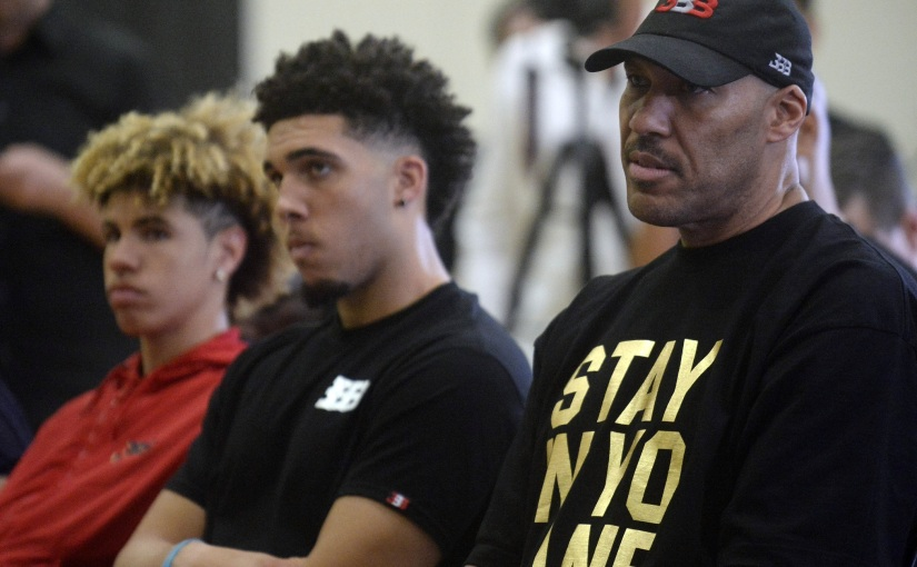 "LaVar Ball is Starting the ""Big Baller League"""