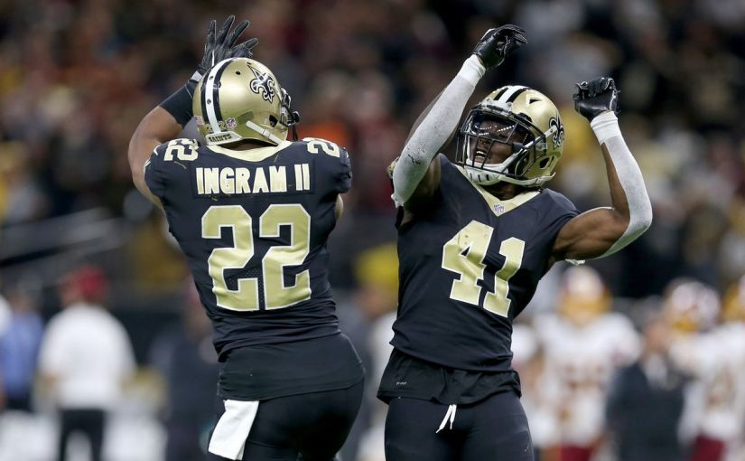 Mark Ingram & Alvin Kamara are first RB Pro-Bowl Duo in 42 years