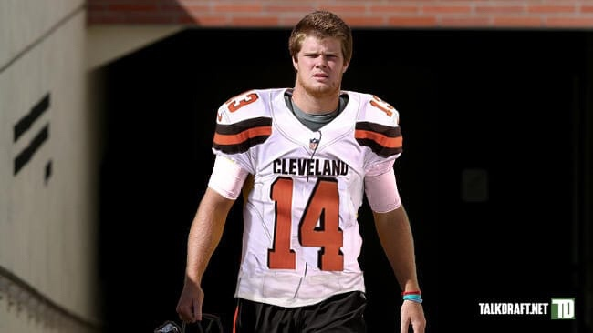 Image result for sam darnold browns uniform