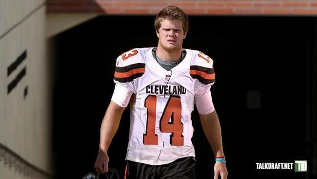 Cleveland Browns' Quarterback Sam Darnold/Josh Rosen Declares for NFLDraft.