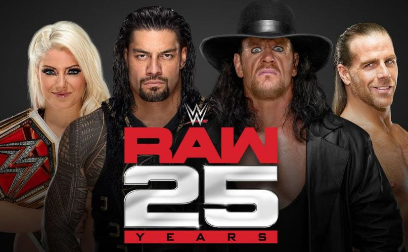 Raw Celebrates it's 25th Anniversary