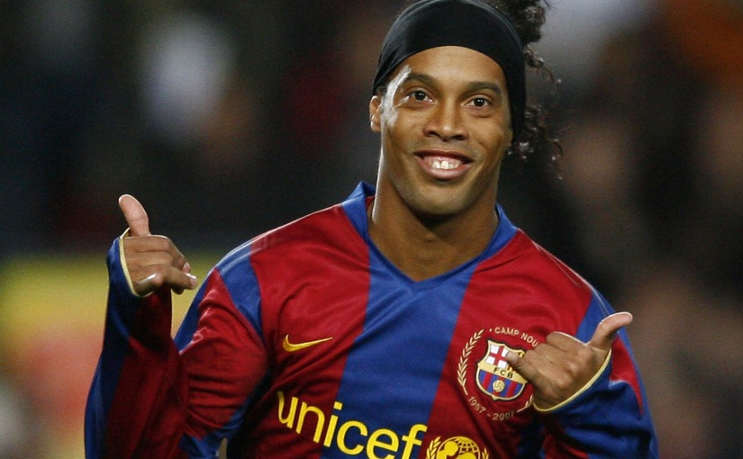 Ronaldinho Hangs Up His Cleats