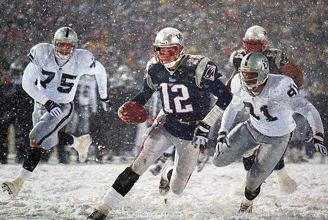 16 Years Ago Today, Tom Brady Won His First Playoff Game