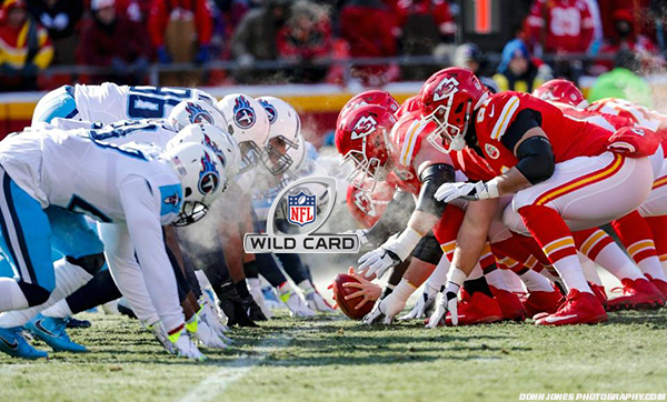AFC Wildcard Preview: Tennessee Titans vs. Kansas City Chiefs.