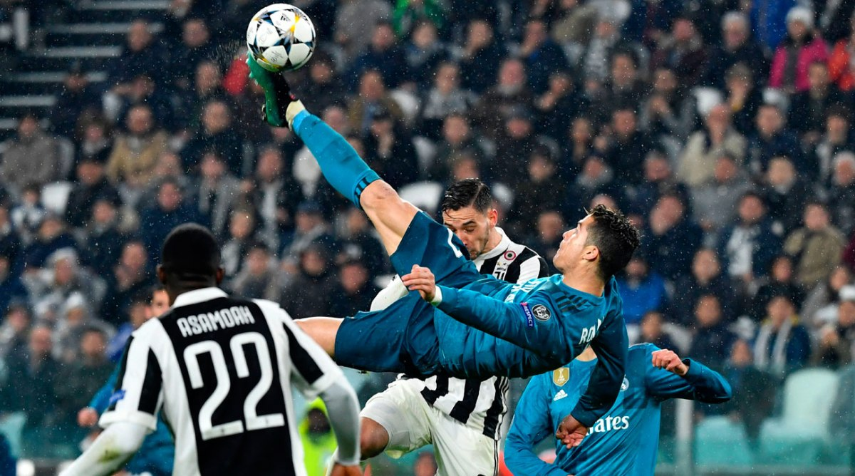 ronaldo juventus bicycle kick goal ronaldo with the goal of the year contender against juventus office chatter