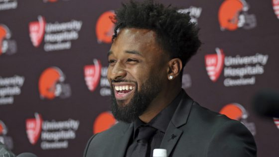 Browns Re-Sign WR, Jarvis Landry to 5 Year, $75.5 Million Extension.